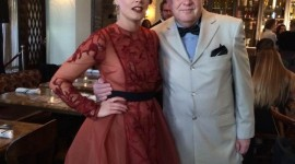Med Ida Engvoll Galascreening Oscars Hollywood 2017