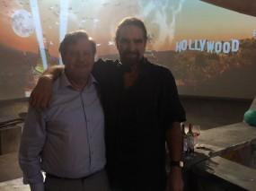 """""""Hollywood Rooftop"""" Med Director Brett Leonard- """"The Lawnmover Man"""" Starring Pierre Brosnan."""